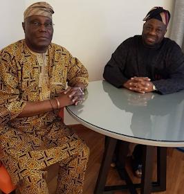 Atiku Abubakar and Dele Momodu