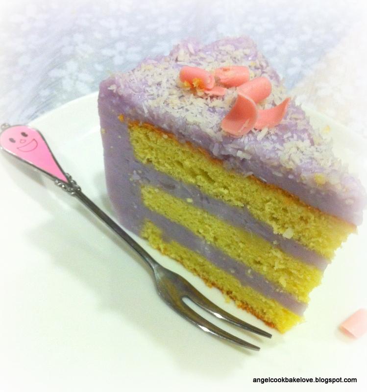 Yam Layer Cake
