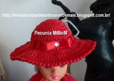 Vestido, casaco e sapatos de Crochê Para a Susi Antiga Criada Por Pecunia MillioM 3