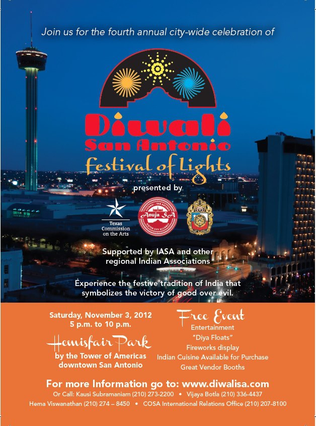 Diwali San Antonio Festival Of Lights Paperblog