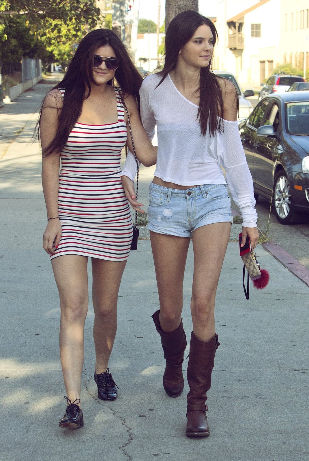 04 - Out and About with Kylie Jenner in Hollywood California on June 16, 2012