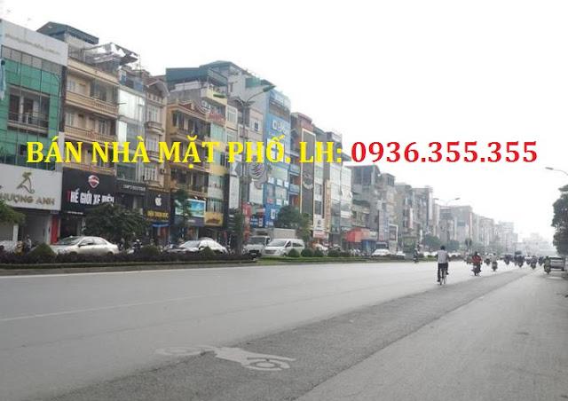 Bán nhà đất mặt phố Trần Đăng Ninh kéo dài