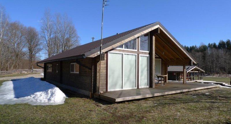 Casas de madera prefabricadas caseta de madera segunda mano for Caseta de jardin de segunda mano