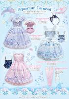 mintyfrills kawaii sweet lolita fashion marine mermaid cute