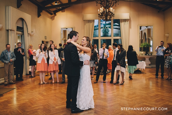 elegant wedding at piedmont community hall