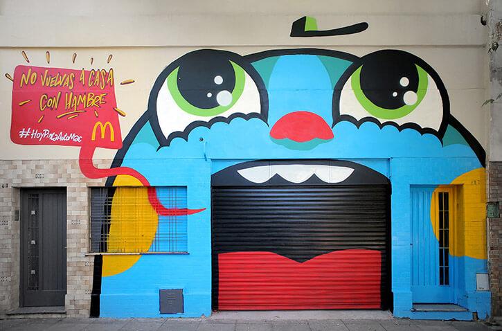 """""""No vuelvas a casa con hambre"""" Garajes hambrientos, McDonald's Argentina"""