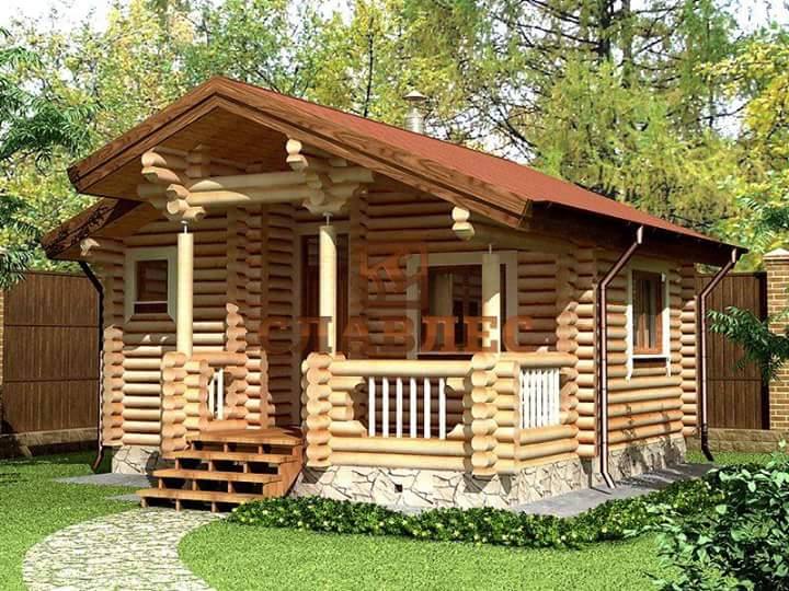Awe Inspiring Beautiful Simple Wood House And Log House Design Largest Home Design Picture Inspirations Pitcheantrous