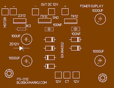 power supply simetris sederhana dan gampang di buat