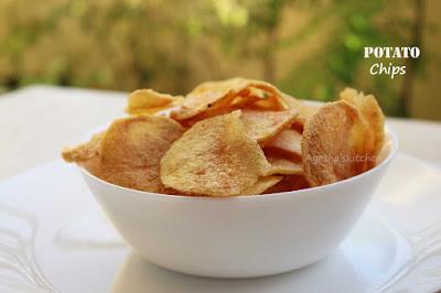 how to make perfect potato snack crispy snacks  wafers potato crisps ayeshas kitchen