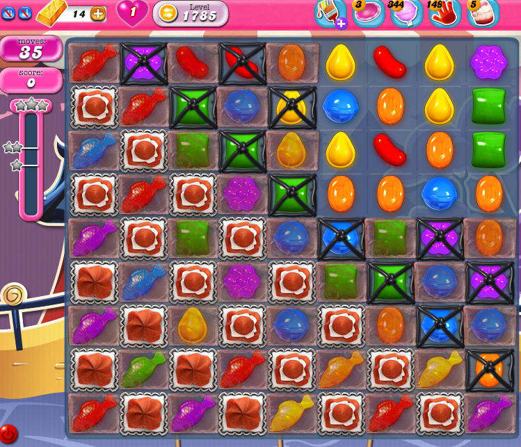 Candy Crush Saga 1785