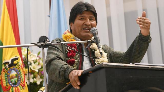 Morales advierte de conspiración de CIA en diálogos de Venezuela