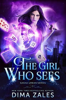 The Girl Who Sees - addictive urban fantasy book promotion Dima Zales