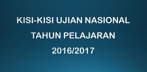 Surat Edaran BSNP dan Kisi-Kisi UN 2016/2017 SMP/MTs, SMA/MA, SMK/MAK, SMPLB/SMALB, Paket B, Paket C