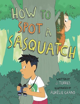 How to Spot a Sasquatch is a fun graphic novel with great illustrations and humor throughout the story. Kids will enjoy it!  #HowToSpotASasquatch #NetGalley #GraphicNovel #MiddleGrade