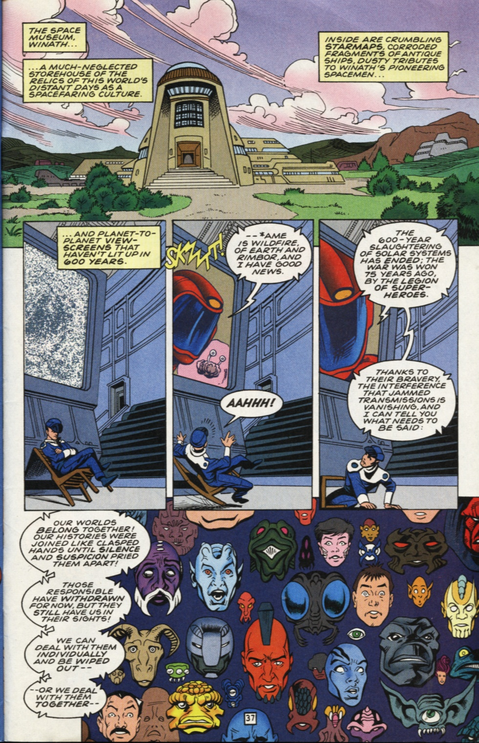 Legion of Super-Heroes (1989) _Annual_7 Page 38