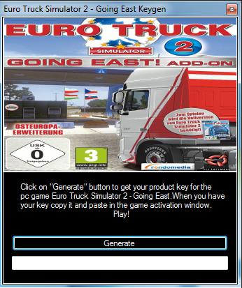 Truck Simulator 2 Going East Cd Key Generator Serial Key
