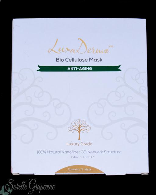 LuxaDerme Bio Cellulose Mask Anti Aging