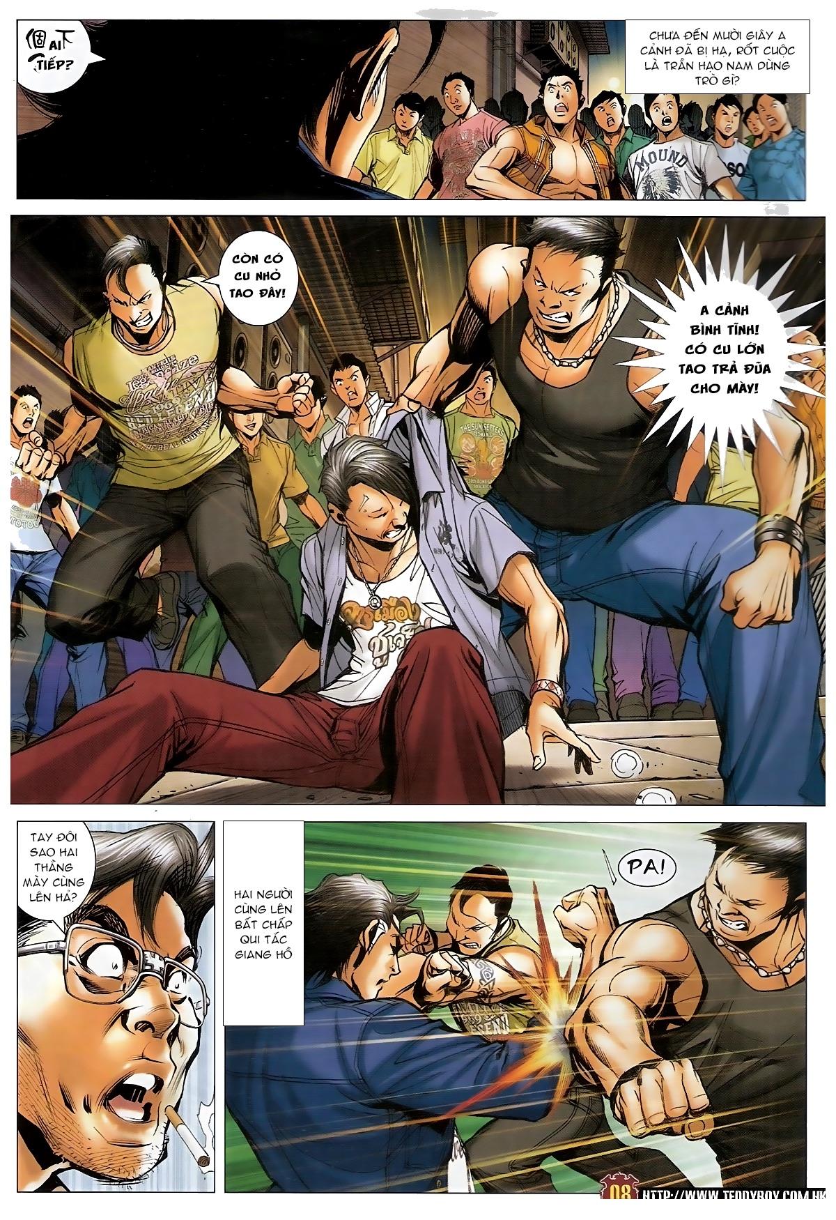 Người Trong Giang Hồ - Chapter 1548: Cha con ra trận - Pic 7