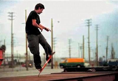 Freestyle Skateboard Trick
