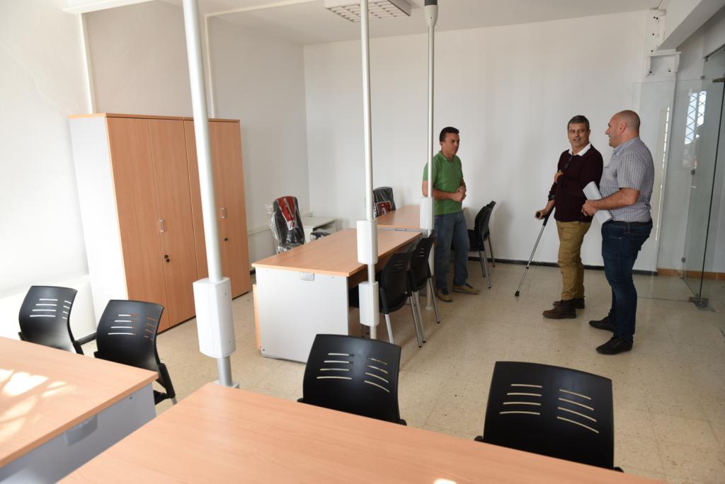 Tuineje finaliza obras acondicionamiento unidad fija del for Oficina extranjeria madrid