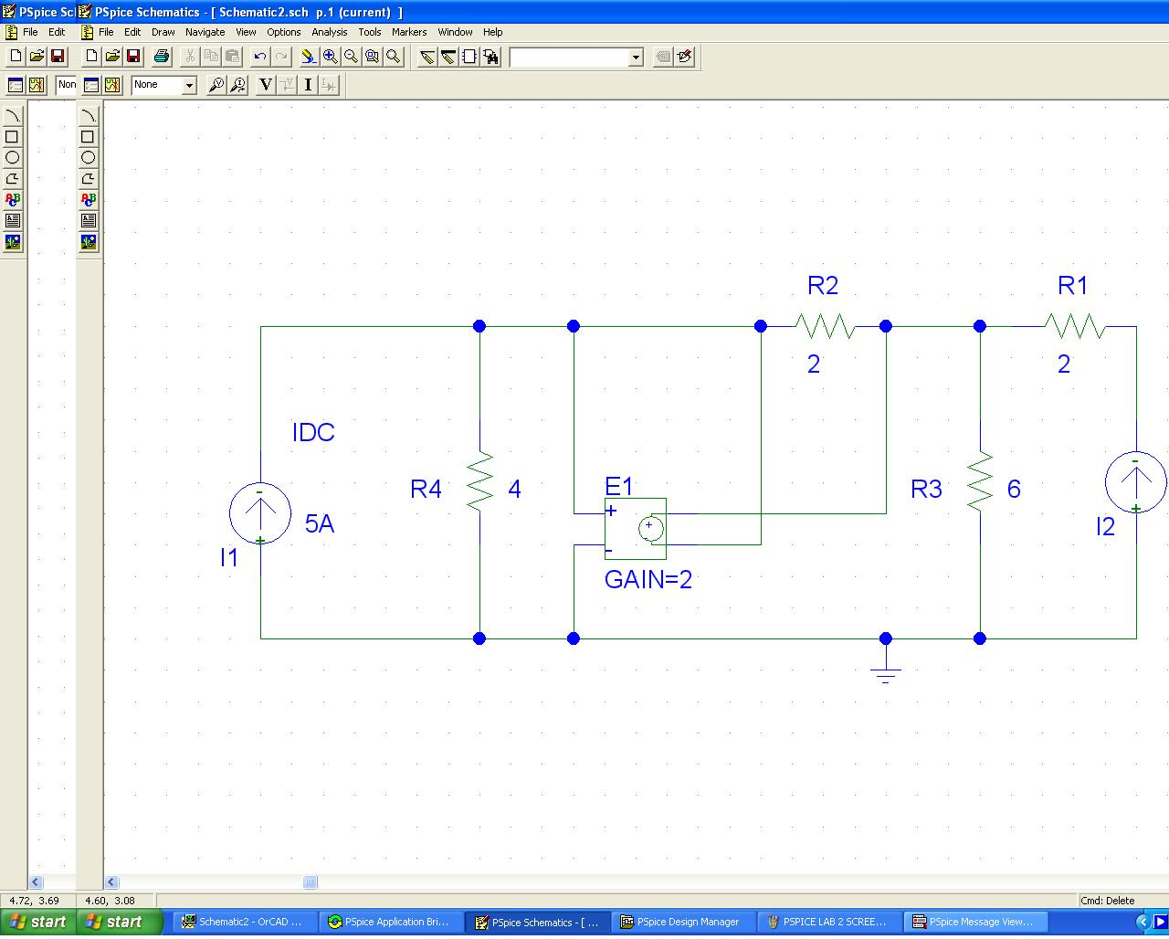 Engineering 44 Derek Yang: PSPICE Lab #2