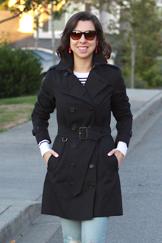 Look com legítimo trench coat da Burberry
