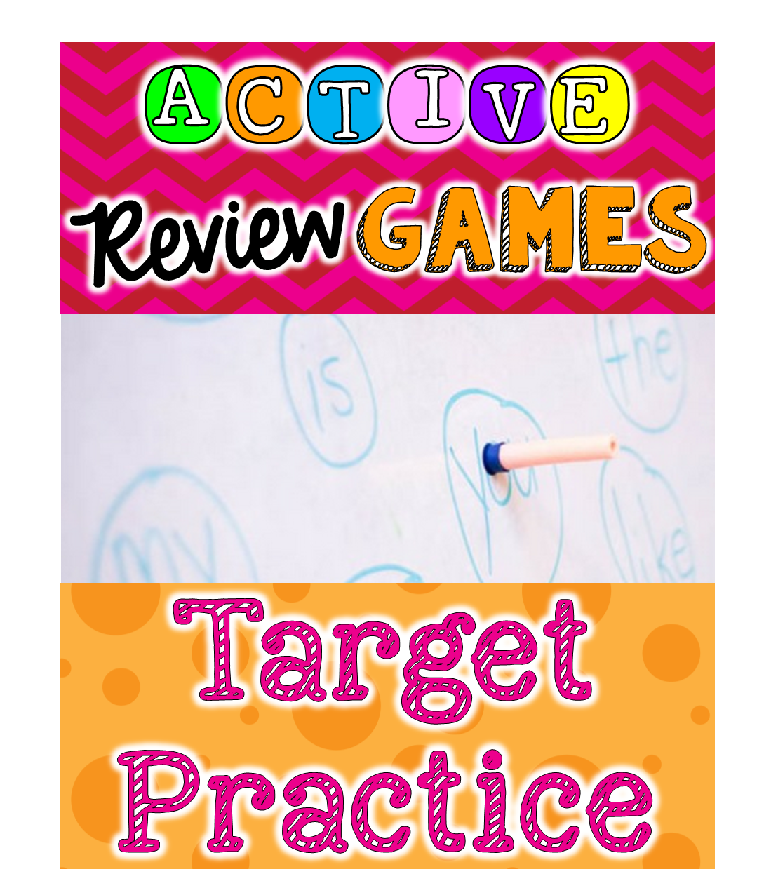 Toddler Approved!: Moving Color Targets Game for Toddlers |Target Practice Games