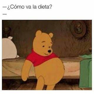 Cómo va la dieta?, Winnie The Pooh