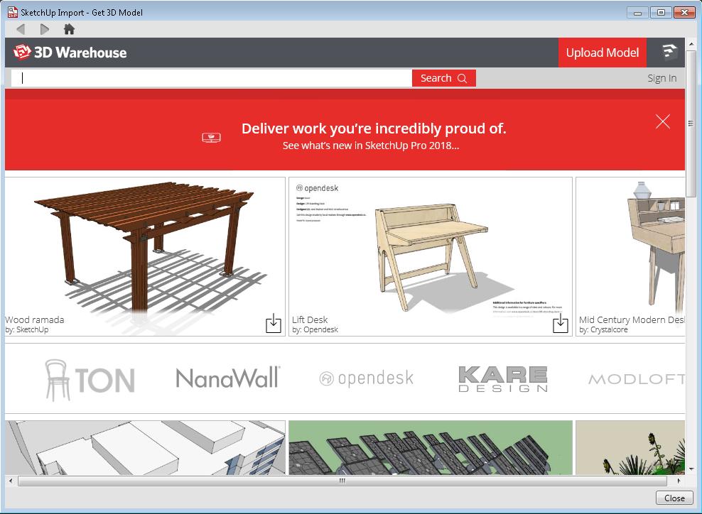 Sketchup Models Free Download 2014