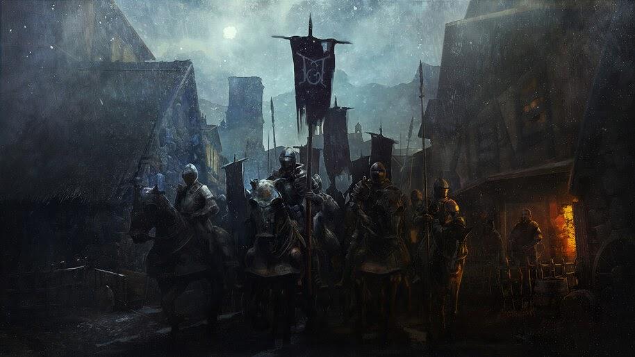 Knight, Army, Fantasy, Medieval, 4K, #4.995
