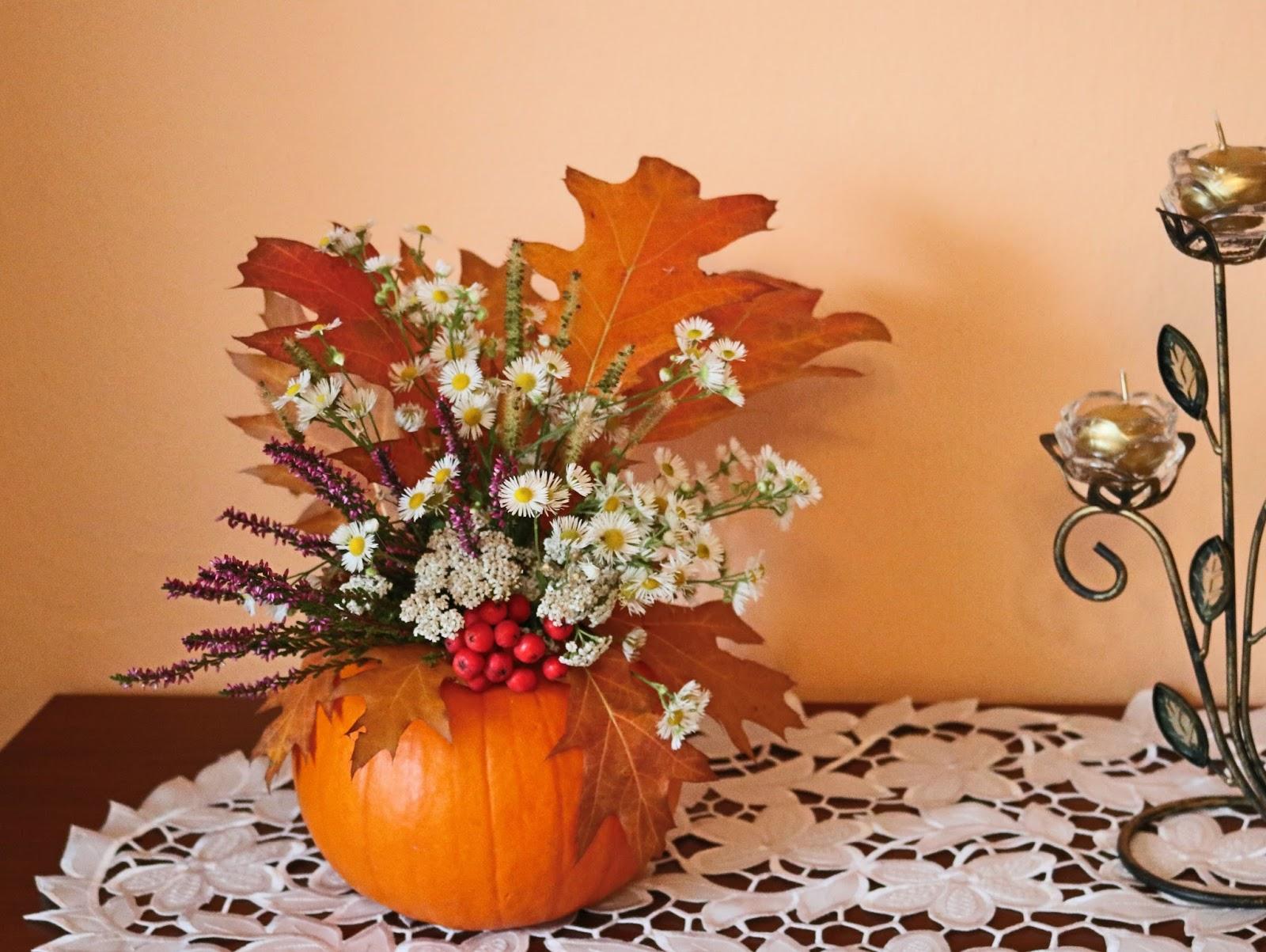 dekoracje diy do domu jesień