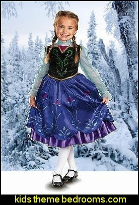 Disney Frozen Deluxe Anna Toddler  Child Costume