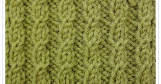 ColourSpun In Stitches - Mock Cable