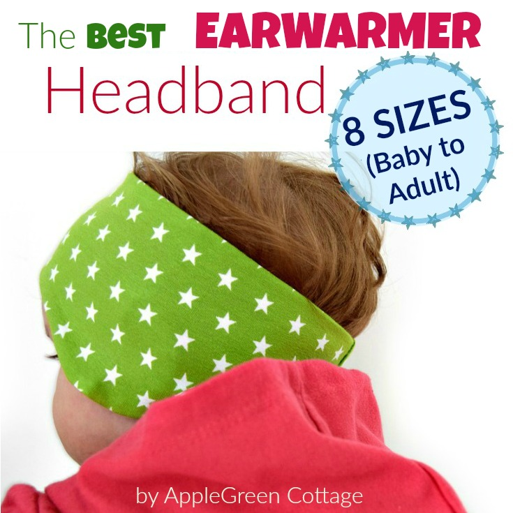 BEST EARWARMER HEADBAND with a free PDF pattern
