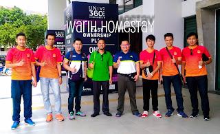 Warih-Homestay-Bersama-Team-Sepaktakraw-Sabah-Sebelum-Berangkat-Pulang
