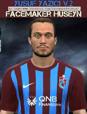 PES 2017 Yazici Trabzonspor Face V2 CREDITS Facemaker Huseyn