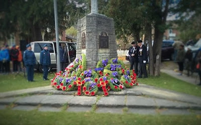 Remembrance Day in Our Little Town