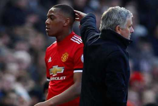 Anthony Martial 'targeted by Juventus and Bayern Munich' as speculation continues over his Manchester United future