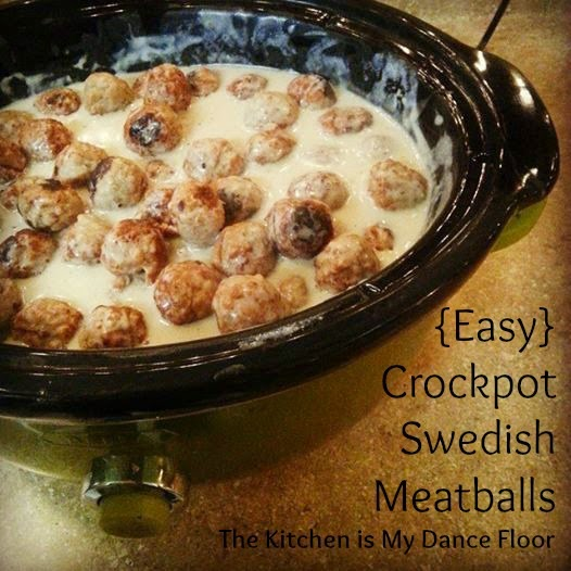 {Easy} Crockpot Swedish Meatballs and Bible Study