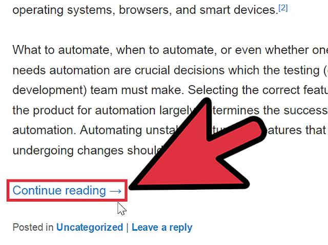 membuat auto read more blogger