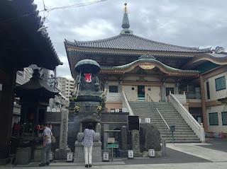 Sugamo jizo temple