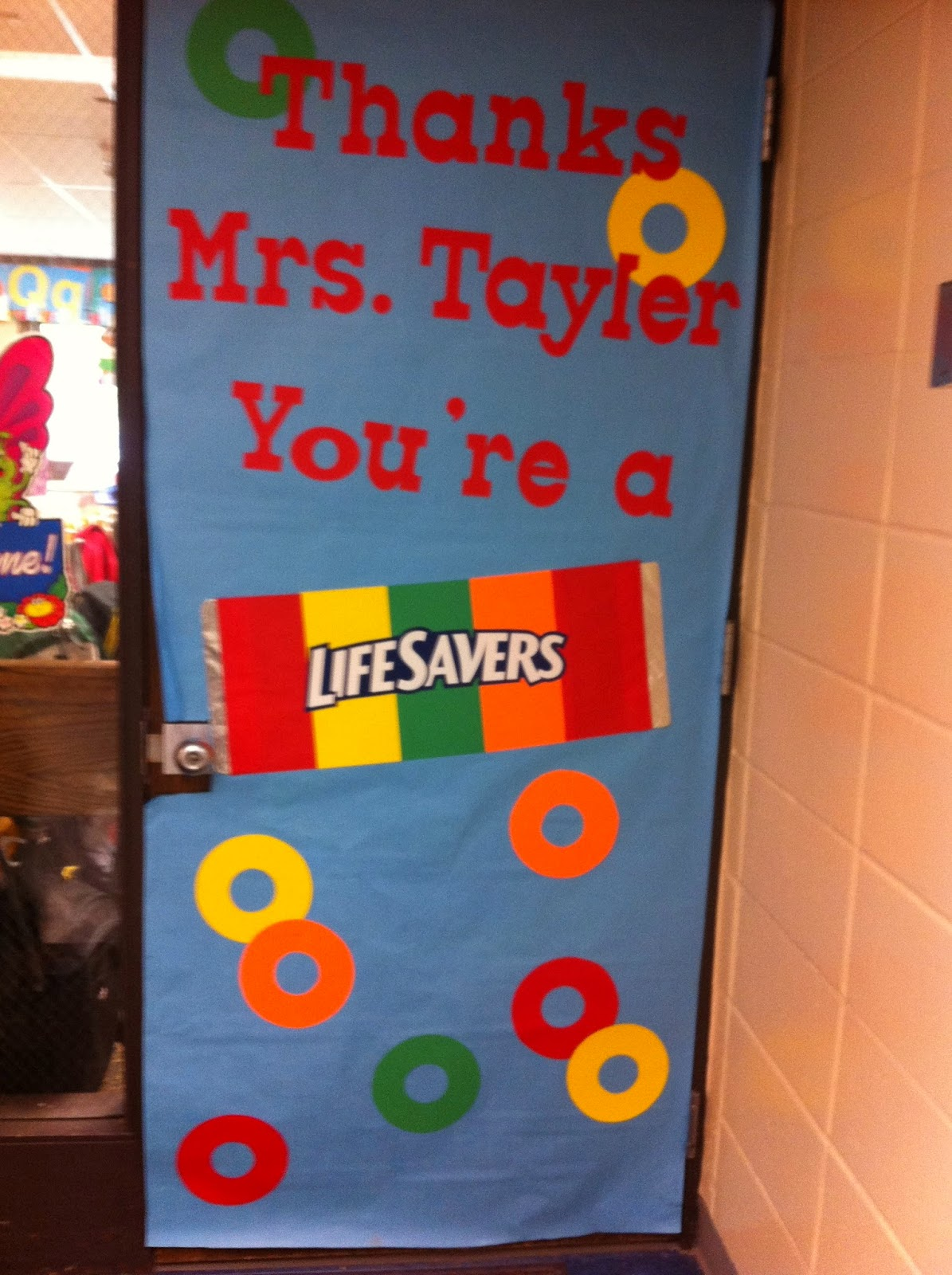 Mommy Lessons 101: Teacher Appreciation Week - Door ...