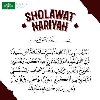 satu miliyar sholawat Nariyah