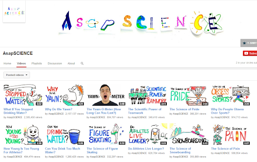 9 Science Centered YouTube Channels for teachers and students