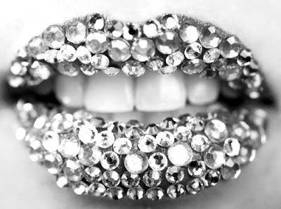 Cool diamonds lips