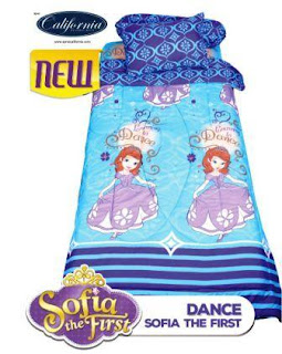 Sprei california single motif Sofia dance