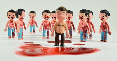 The Walking Kids Mini Figure Set by Super Secret Fun Club