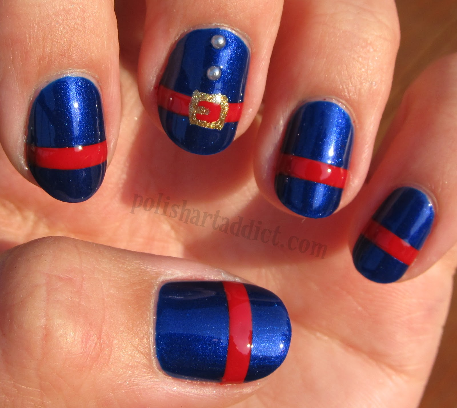 Violet Beauregarde Nail Art Tutorial
