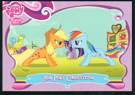 My Little Pony Iron Pony Competition Series 1 Trading Card