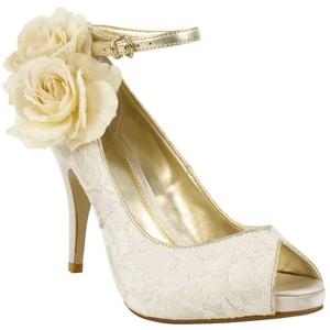 Ivory Peep Toe Wedding Shoes Next